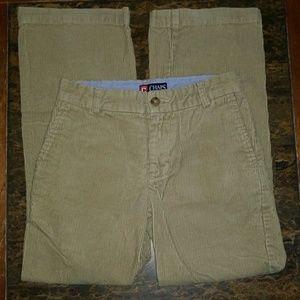 Classic Chaps Chino Corduroy Tan Pants Boys Size 8